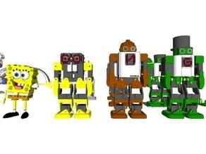 Humanoid Robot – Robonoid – Design concept