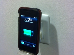 iPhone charger shelf