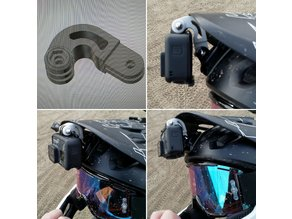 Curved GoPro Bracket