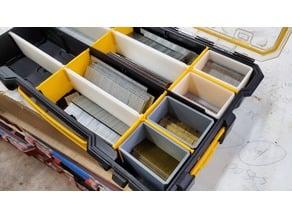 Dewalt organizer long divider and small box