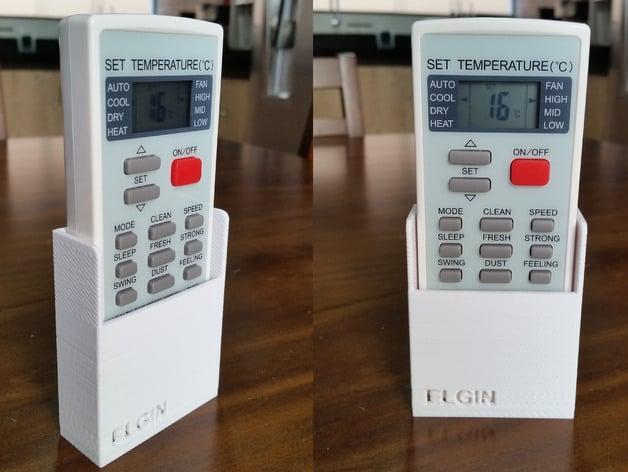 Suporte Para O Controle Remoto Do Ar Condicionado Elgin