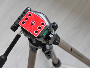 Plate mount for tripod Continent A1 and simple