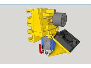 Extruder for P3STEEL 3D printer
