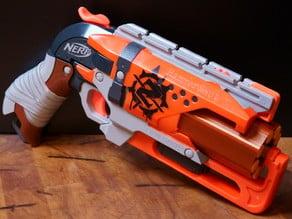 Spiralized Cylinder for the Nerf Hammershot 8-shot Mod