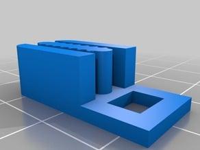 Mostly Printed CNC Corner Block Belt Clip