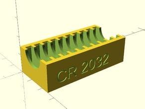 CR2032 Coin Battery Holder