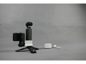 osmo pocket  1/4 and GoPro adapter