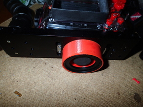 Wet lens holder (caddy) - tripod screw mount