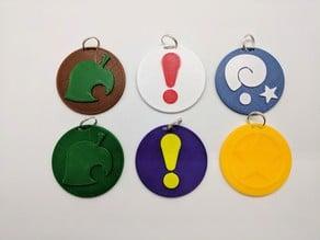 Animal Crossing Keychains