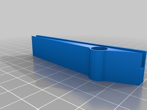 HIC Prusa i3 Heated Bed Cable Holder
