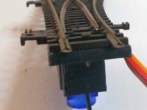 rail servo support railroad switch - horizontal