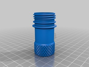 My Customized PET Container with knurled grip