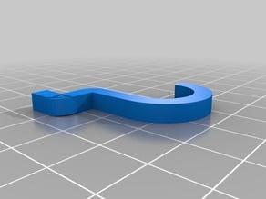 Simple Peg Board Hook