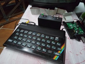 Box for TransTape 3 ZX Spectrum Interface Clone