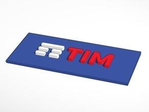 TIM 3D LOGO