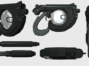 Kinetic Pistol