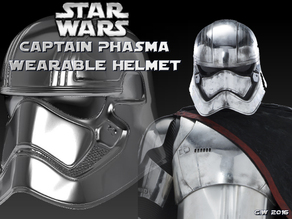 Captain Phasma Wearable Helmet