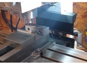 Improved Way Cover for Precision Matthews PM25-MV Milling Machine, Z-Axis