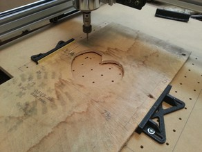 Shapeoko 2 Modular Table Vice 3""