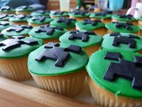 Minecraft Creeper Cookie Cutter