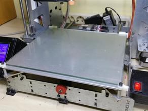 Glass Bed Holder for Prusa i3 Steel