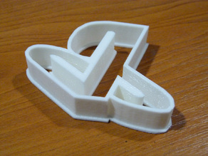 PS logo cookie cutter