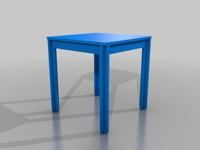 Minima Café - Open Source Table - CNC milling