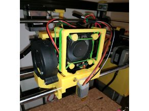 Tronxy X5 modified Print Waggon with 3D Touch Sensor