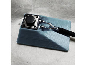 12 mm tact button solder jig