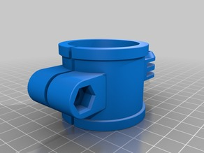 38mm tube (V-Drum) GoPro style mount