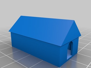 42mm*42mm House 3d Print Test
