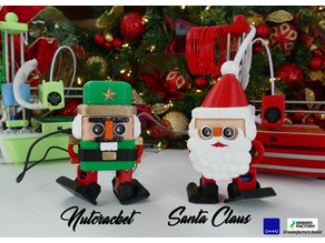 Otto Santa Claus and Nutcracker by Dreamfactory