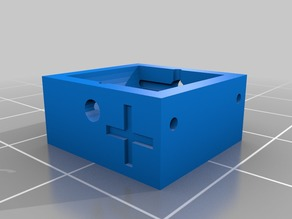 2x LR 44 button cell battery holder