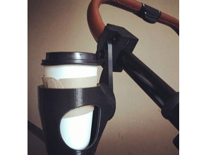 Gyroscopic mount for cup holder