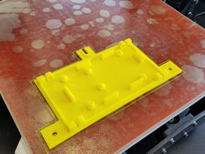Bottom plate for Ardunio Mega 2560 Ramps 1.4 Box