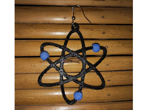 Atom earring