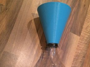 a funnel for a cola bottle