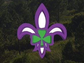 Scouting Ireland Fleur de Lis