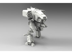 Stormhound Assault Walker