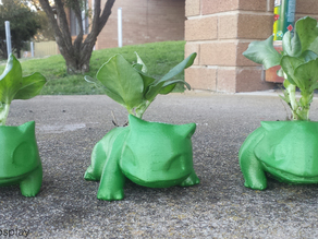 High Poly Bulbasaur Planter