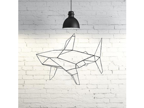Shark Wall Sculpture  2D