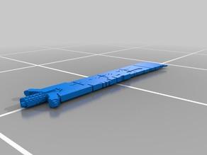 (3D Slash) SwordSTL