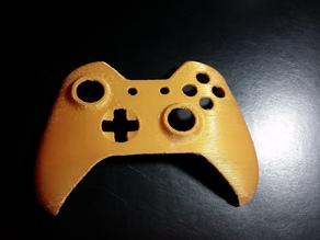 Xbox One Controller Faceplate (Built-in Supports)