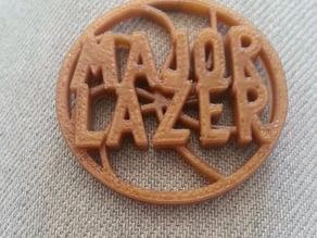 Major Lazer Keychain