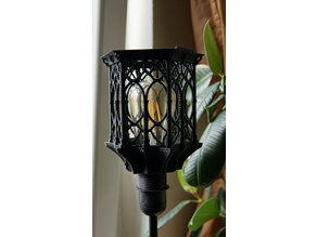 Gothic IKEA Stehlampe + Cura Profil Ender 2