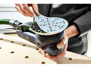 Bracket for mounting abrasiveROTEX FESTOOL RO 150