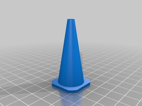 My Customized Customisable Traffic Cone for RC