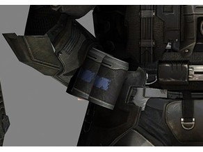 Halo 3 ODST hip canister caps