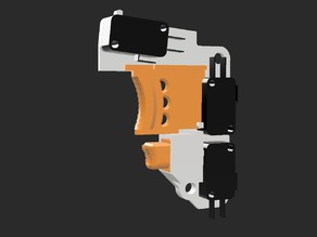 Nerf Rapidstrike Switch Plate and Triggers