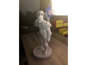 World Of Warcraft - Footman statue